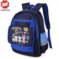 Школьный рюкзак для мальчика 1-4 класс Tigernu T-B3225 Синий